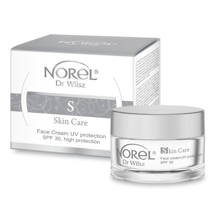 Солнцезащитный крем  SPF 30 SEMI-RICH FACE CREAM UV PROTECTION SPF 30 Norel 50 мл