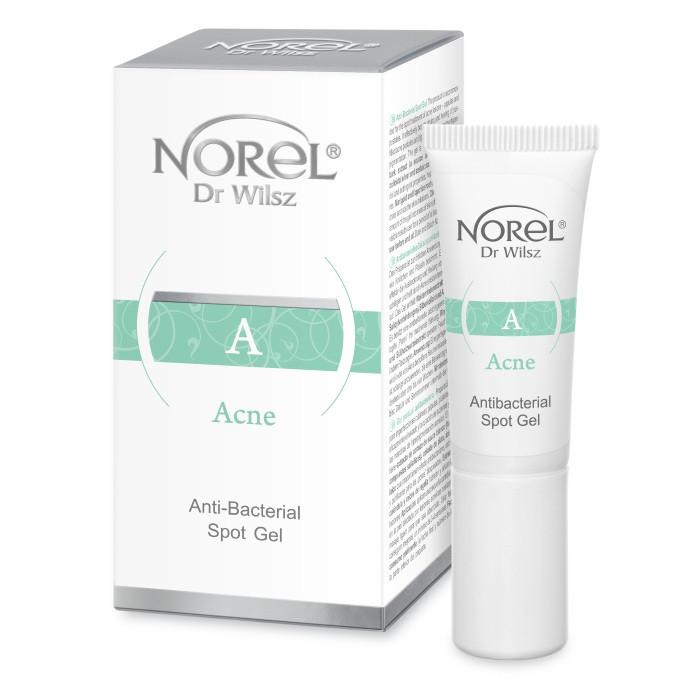 Точечный корректор для кожи с акне  Норель ANTIBACTERIAL SPOT-GEL Norel 10 мл