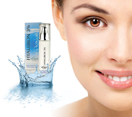 Зволожуюча сироватка з 3% гіалуронової кислотою Норель Intensive moisturizing gel serum. Norel 30 мл