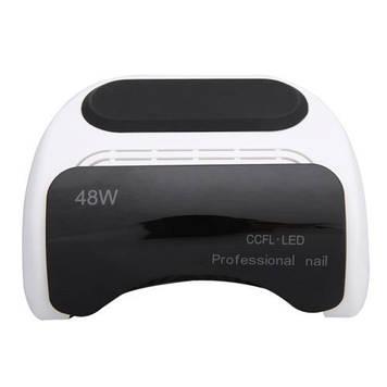 CCFL+LED Лампа для манікюру Professional 48W БІЛИЙ