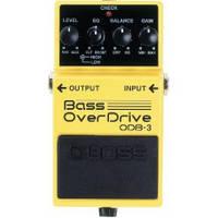 Boss ODB3 педаль для бас- гитары, эффект - Bass Overdrive