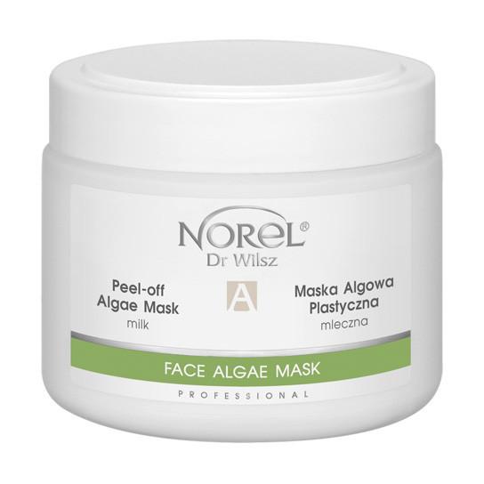 Альгинатная успокаивающая молочная маска  Норель PEEL-OFF ALGAE MILK MASK Norel 500 мл