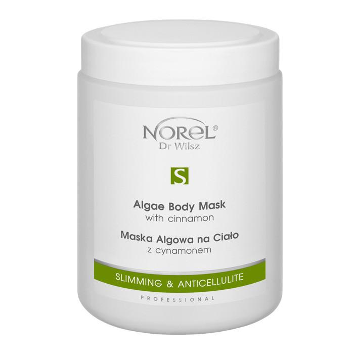 Альгинатная антицеллюлитная маска для тела c корицей ALGAE BODY MASK WITH CINNAMON Norel 1000 мл