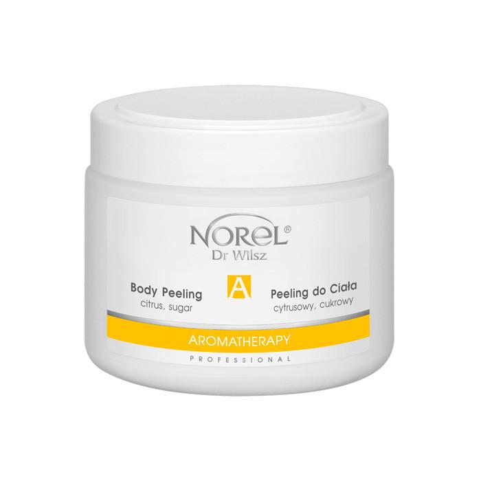 Сахарный цитрусовый пилинг скраб для тела  CITRUS SUGAR BODY PEELING Norel 500 мл