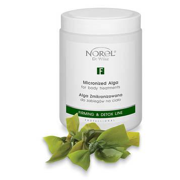 Альгинатная антицеллюлитная маска для тела MICRONIZED ALGAE FOR BODY TREATMENT Norel 660 г
