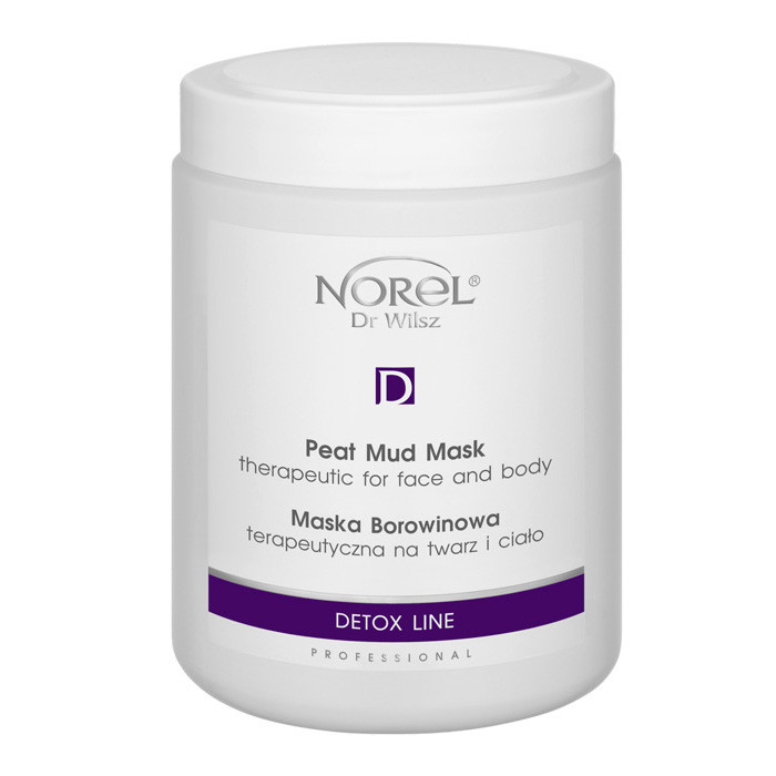 Маска для лица и тела с лечебной грязью THERAPEUTIC PEAT MUD MASK FOR FACE AND BODY Norel 1000 мл
