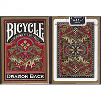 Карты Bicycle Dragon Back Gold, 1025004