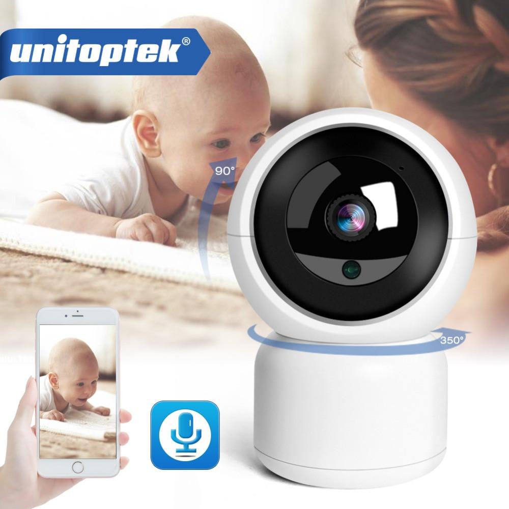 IP камера с интеллектуальным отслеживанием Unitoptek T-02 1080P. YCC365Plus