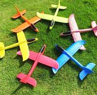 Швидкий метальний літачок, планер трюкач, дитячий літак камікадзе, фото 1