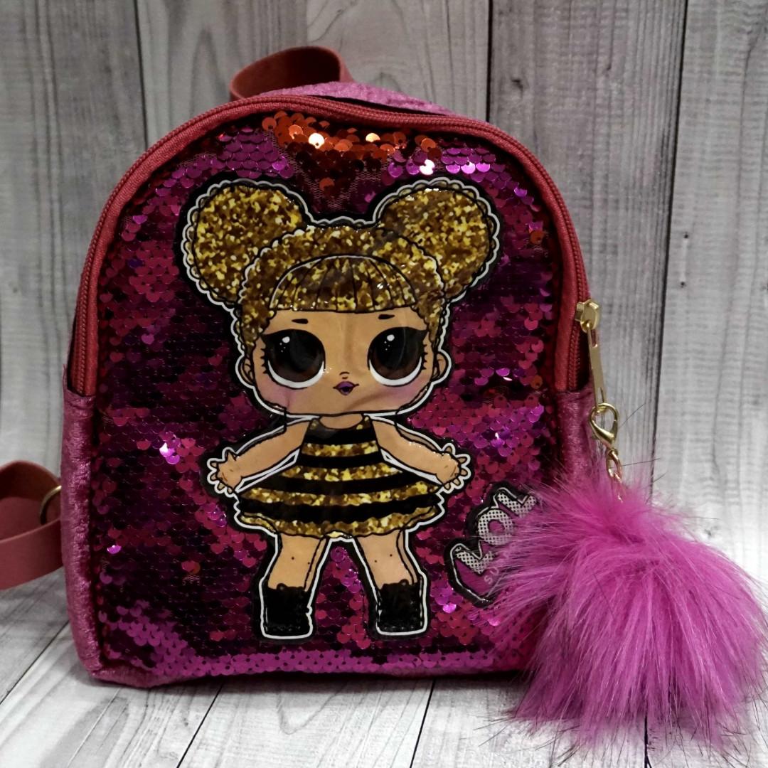 Рюкзак с паетками Лол