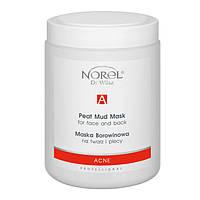 Микронизированные лечебные грязи PEAT MUD MASK FOR FACE AND BACK  Norel