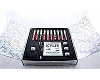 Подарунковий набір косметики Kylie KY-1 срібло, набір декоративної косметики, фото 1