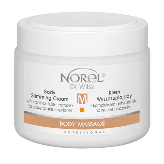 Крем для лимфодренажного массажа и под обертывания BODY SLIMMING CREAM WITH ANTI-CELLULITE COMPLEX  Norel 500