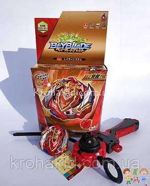 BeyBlade Cho-z Achilles 00.Dm А5 B-129 / Бейблейд Чё Зет A5 Flame (красный с черным), фото 2
