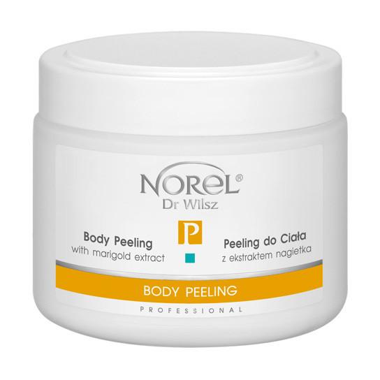 Кремовый пилинг-скраб  для тела BODY PEELING WITH MARIGOLD EXTRACT Norel