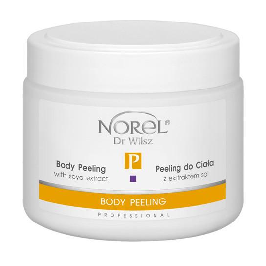 Скраб - пилинг для тела  BODY PEELING WITH SOYA ECT Norel 500 мл