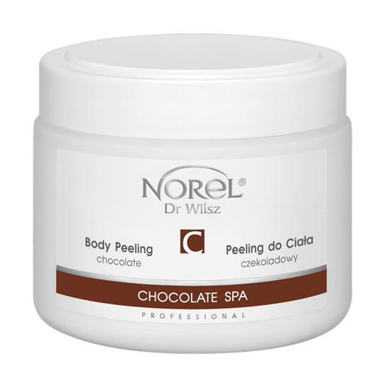 Пилинг для тела  гелевый с какао ,CHOCOLATE BODY PEELINGNorel