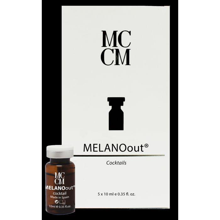 Мезопрепараты при пигментации флаконы MСCM MELANOOUT  5 х 10мл 0371