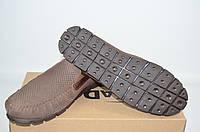 Туфли-мокасины мужские KADAR 2789797 коричневые нубук, фото 1