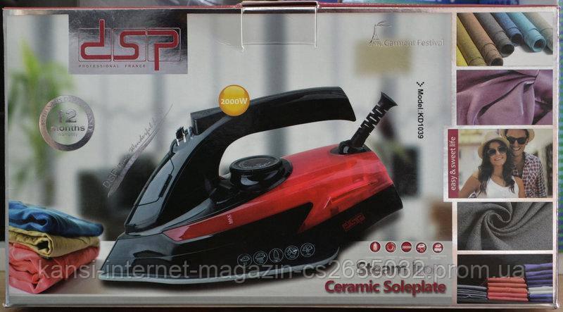 Утюг паровой  электрический  DSP KD 1039
