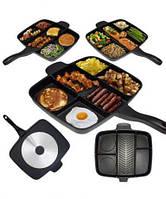 Сковорода без крышки универсальная MAGIC PAN 5в1 для гриля