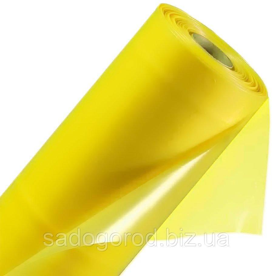 Пленка тепличная стабилизированная желтая 12 месяцев, 6 м х 50 м, рукав 3 м, толщина 90 мк, 23 кг