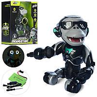 Животное Q2 (9шт) обезьянка26см,аккум,муз,свет,Bluetooth-колонка,USBзар,в кор-ке,26,5-32,5-13см