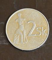 Словения 2 кроны 1993 год (БГ)