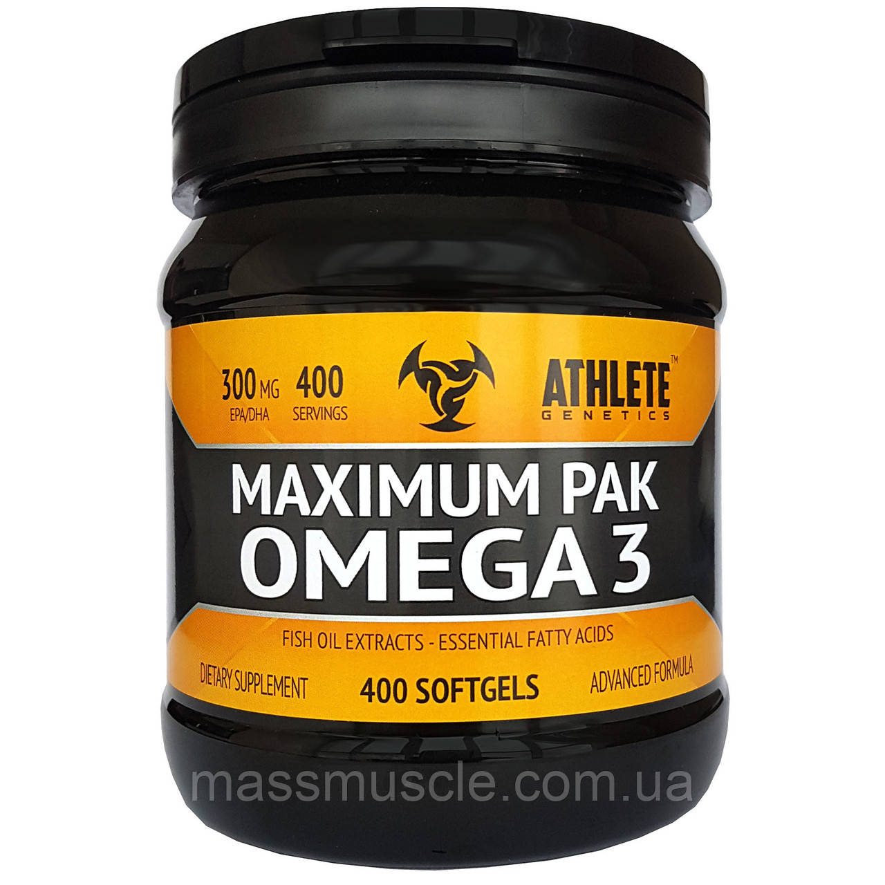 Рыбий жир Athlete Genetics Maximum Pak Omega 3 400 caps