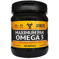 Рыбий жир Athlete Genetics Maximum Pak Omega 3 400 caps