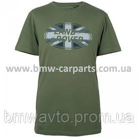 Мужская футболка Land Rover Men's Union Flag Graphic T-shirt, Green
