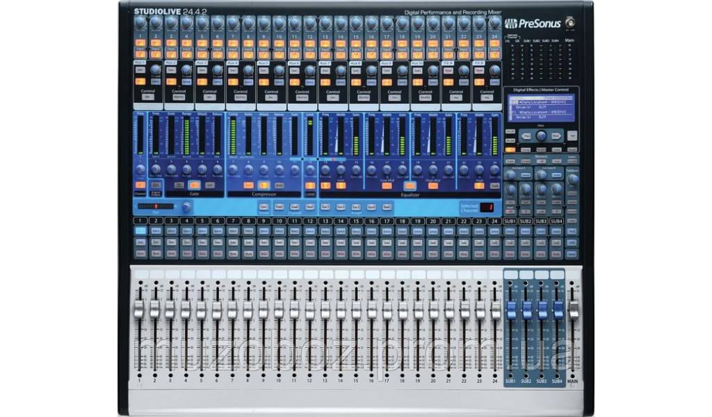 Presonus StudioLive 24.4.2 цифровой микшерный пульт, 24 канала