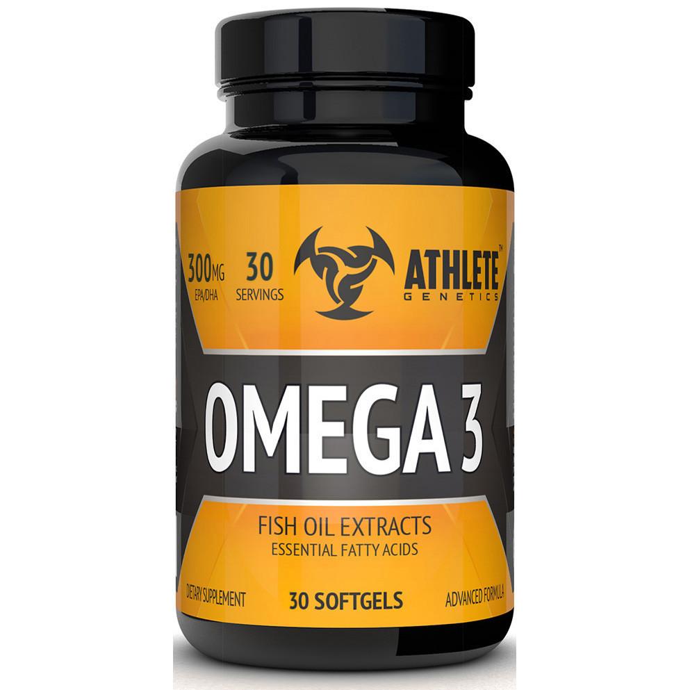 Риб'ячий жир Athlete Genetics Omega 3 caps 30
