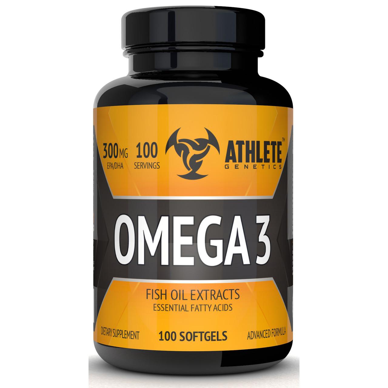 Риб'ячий жир Athlete Genetics Omega 3 100 caps