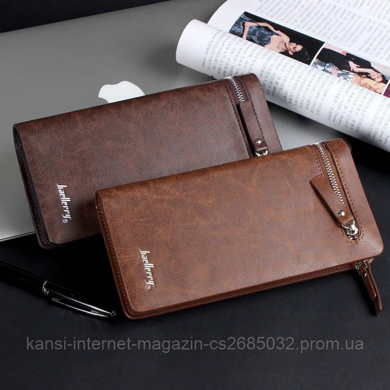 Кошелек портмоне коричневый Baellerry S618-357 brown