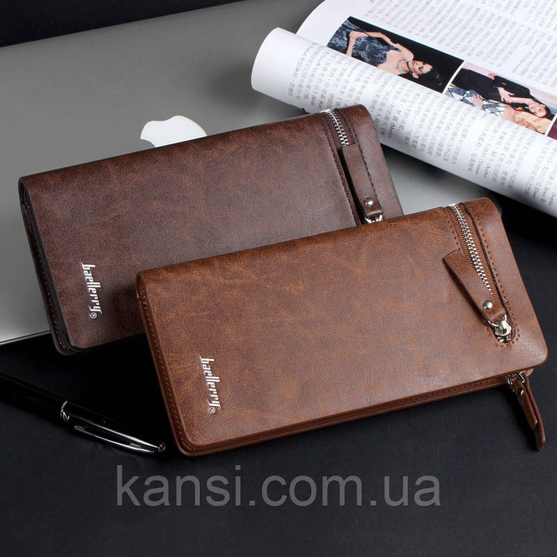 610ecb4d775e Кошелек портмоне коричневый Baellerry S618-357 brown: продажа, цена ...