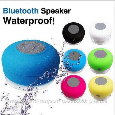Портативная колонка bluetooth SPS X1 waterproof с присоской, bluetooth колонка