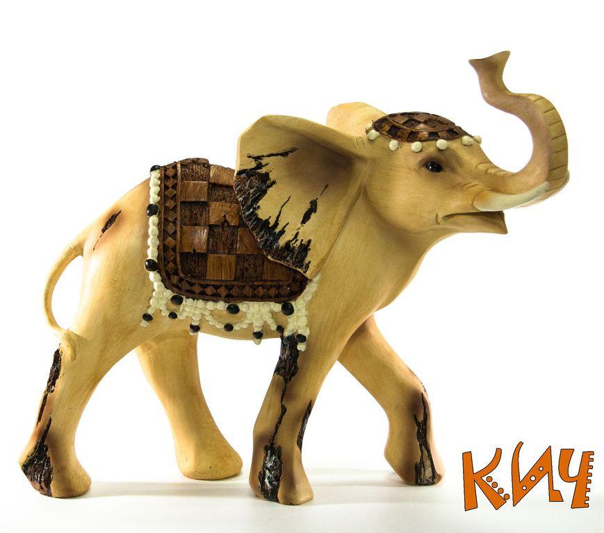 """Статуэтка """"Слон"""" в подарочной упаковке 32,5 см"""
