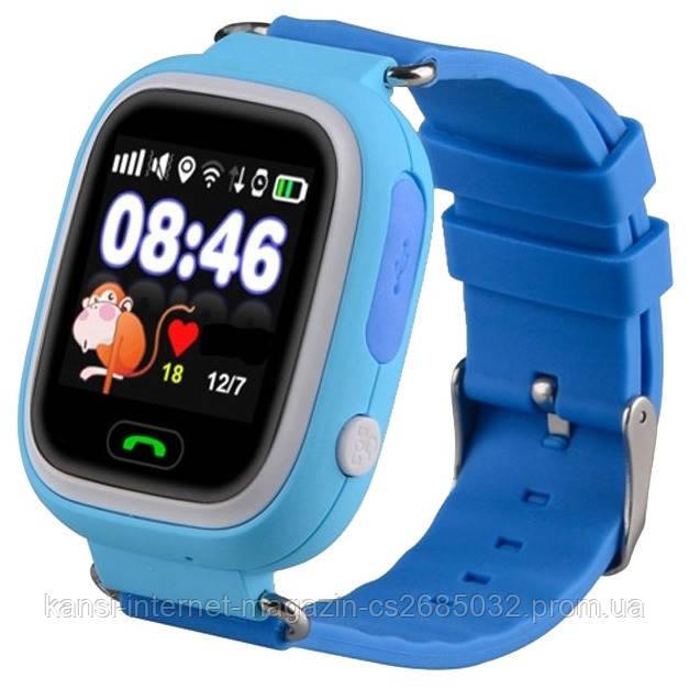 Умные детские часы  Smart Watch Q80,  смарт часы, умные часы, детские смарт вотч
