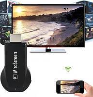 Медіаплеєр Miracast AnyCast M2 Plus HDMI з вбудованим Wi-Fi модулем, приймач HDMI
