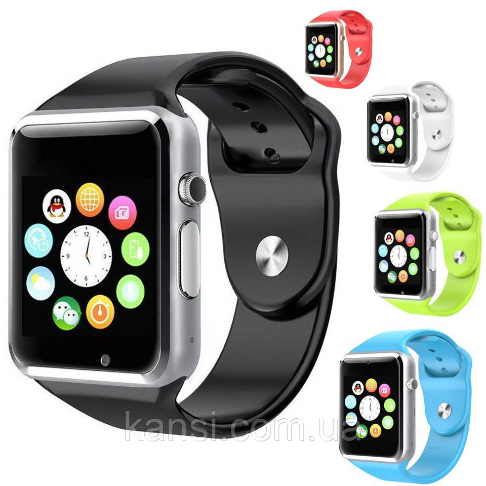 Смарт часы Smart Watch A1, умные часы, смарт часы, часофон