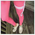 Лосины для фитнеса леггинсы для спорта Розовые Aimn №22 (M), фото 2