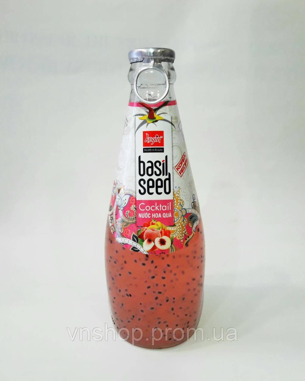 Коктейль Basil Seed персик (290мл)