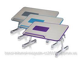 Подставка кулер для ноутбука  Laptop table A8, столик для ноутбука с вентилятором