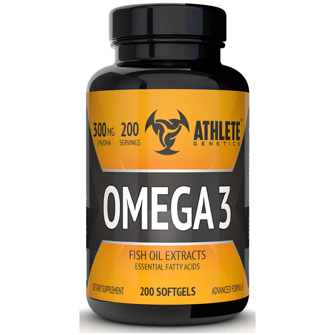 Рыбий жир Athlete Genetics Omega 3 200 caps