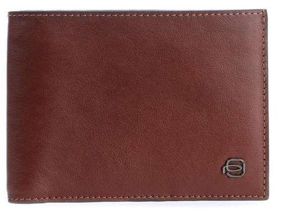 Кожаное портмоне Piquadro Black Square PU1240B3R_CU, коричневый