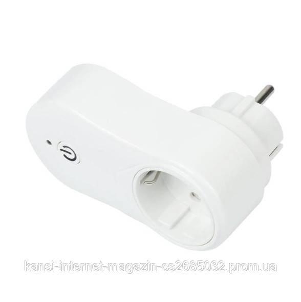 Вай Фай розетка Wi-Fi socket  с USB, WI-FI умная розетка smart socket J2