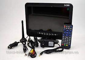 Портативный телевизор 11 дюймов с DVB-T2 LS107T, автомобильный телевизор