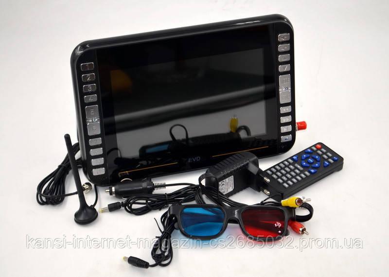 Тб автомобільний з T2 і DVD DVD-LS919T