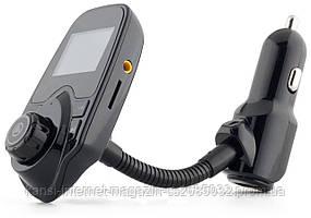 FM модулятор T10-BT в машину трансмітер, автомобільний ФМ-трансмітер